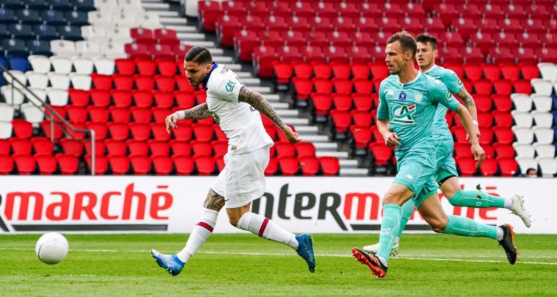 Résultat Coupe de France : PSG 2-0 SCO d'Angers (mi-temps)