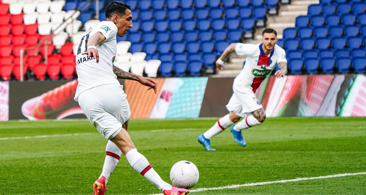 Résultat Coupe de France : PSG 5-0 SCO d'Angers (terminé)