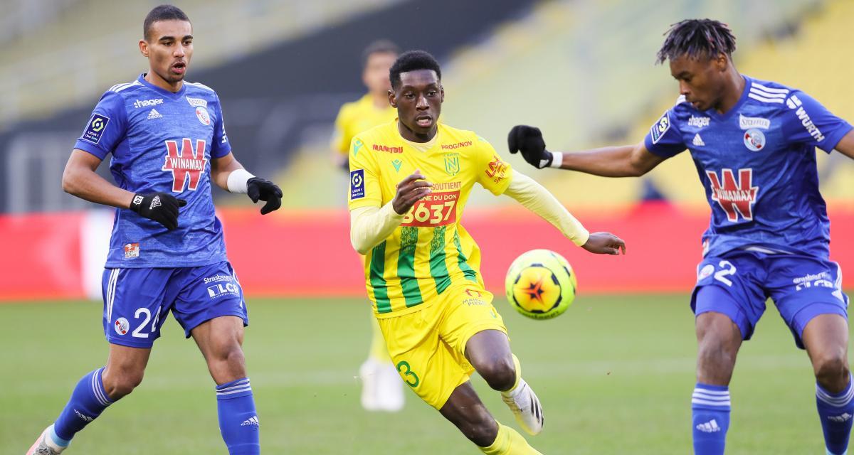 Ligue 1 : Strasbourg - Nantes, les compos probables et les absents