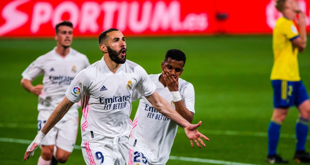 Résultat Liga : Cadix 0-3 Real Madrid (terminé)