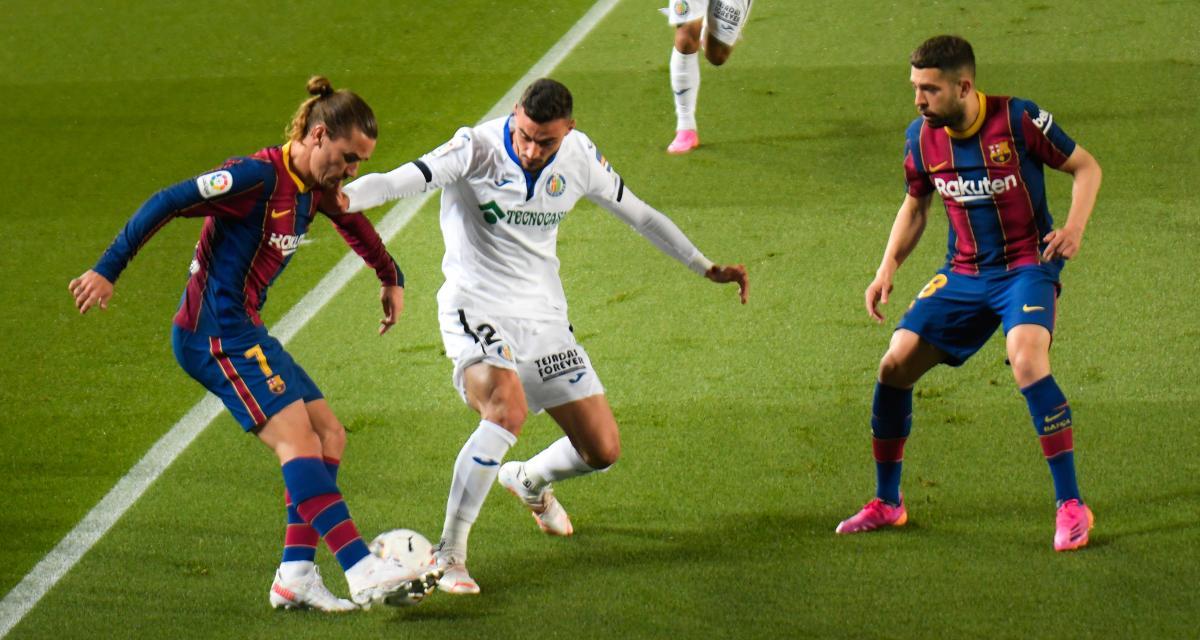 Résultat Liga : FC Barcelone 3-1 Getafe (mi-temps)