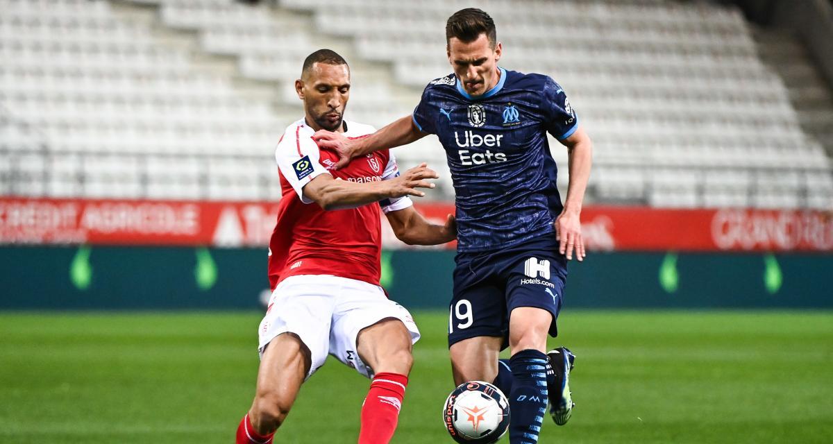 Résultat Ligue 1 : Stade de Reims 1-2 OM (mi-temps)