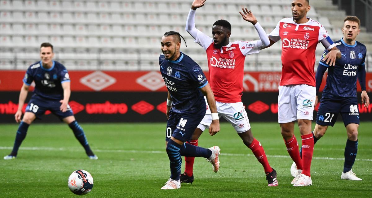 Résultat Ligue 1 : Stade de Reims 1-3 OM (terminé)