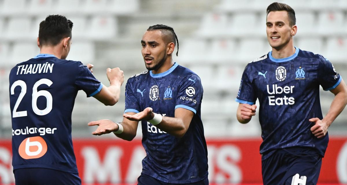 Stade de Reims - OM (1-3) : la réaction de Payet après son doublé