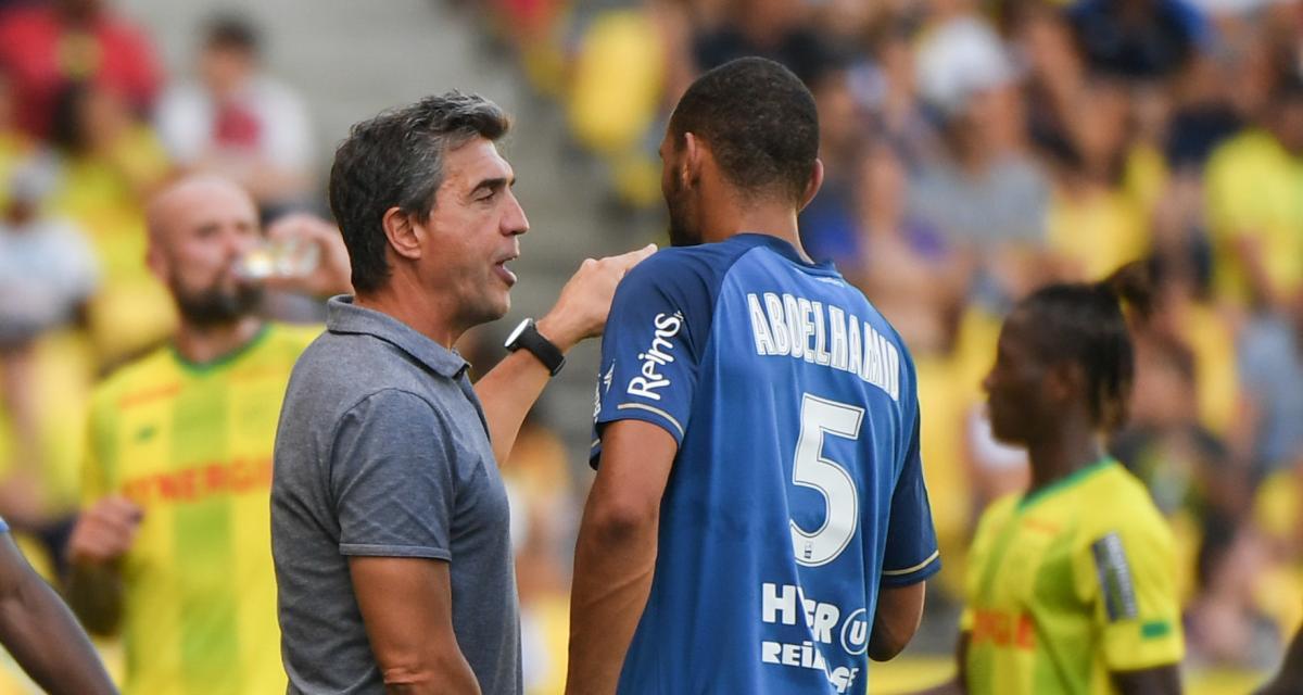 Stade de Reims - OM (1-3) : Abdelhamid et Guion pas sur la même longueur d'ondes