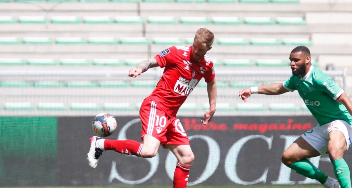 ASSE : les Verts gâchent face à Brest (1-2), Abi pense au futur