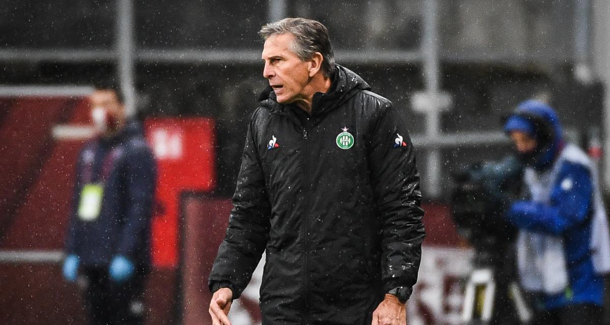 ASSE – Brest (1-2): Puel a ciblé le problème des Verts et fait un point sur les blessés