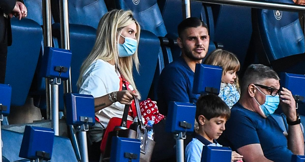 PSG – Mercato: Mauro Icardi a changé d'avis, Wanda Nara rentre à Paris!