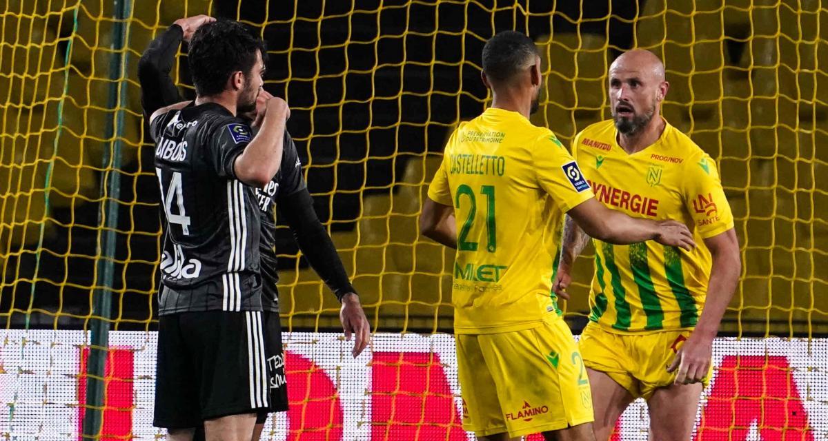 FC Nantes: le vestiaire s'accroche à l'espoir d'une folle série pour sauver le club
