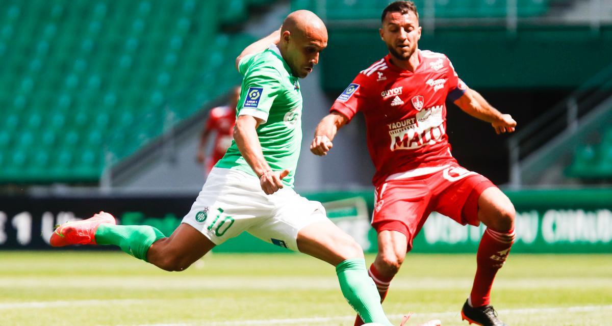 ASSE – Stade Brestois (1-2) : Khazri marque, Green flambe aussi en vain... les notes des Verts