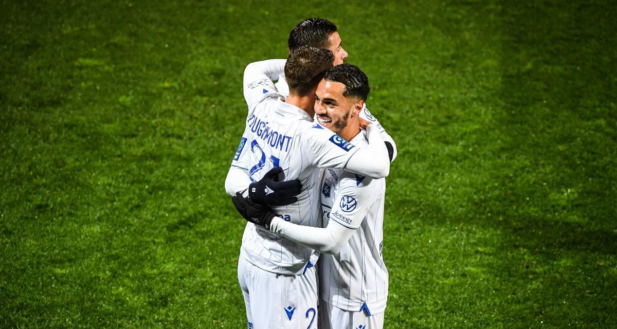Résultats L2: l'ESTAC y est presque, Auxerre dans le Top 5, tous les scores