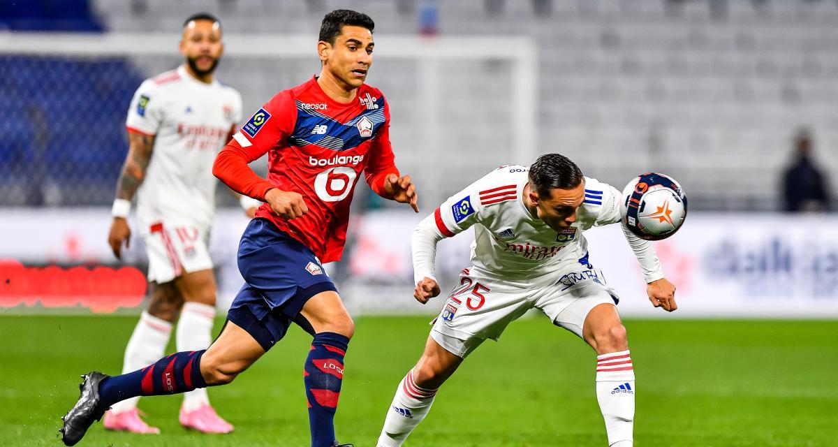 Résultat Ligue 1 : l'OL devant le LOSC après 45 minutes (2-1)