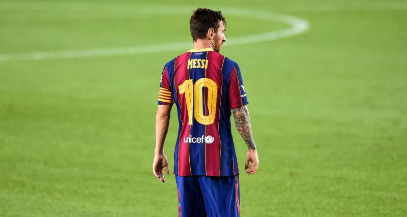 Messi veut jouer en MLS en 2022