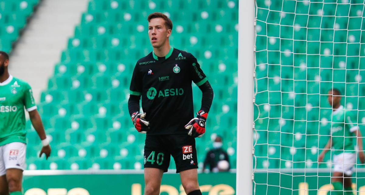 ASSE – Stade Brestois (1-2) : encore des bons points pour Etienne Green