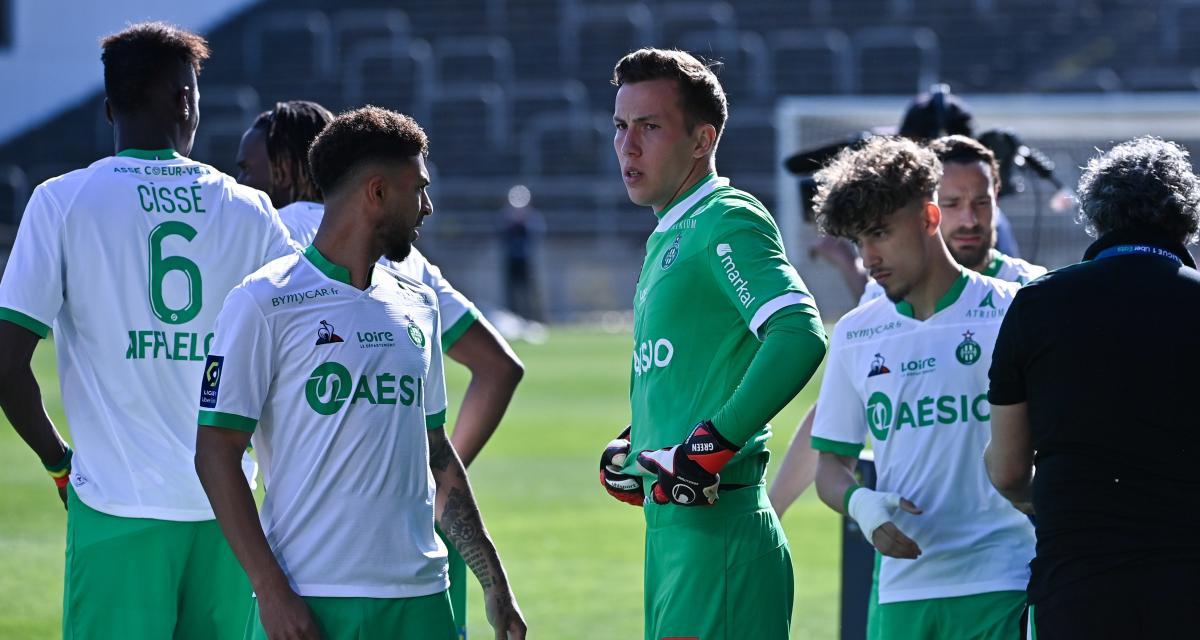 ASSE : Etienne Green a reçu des signes très préoccupants avant Montpellier
