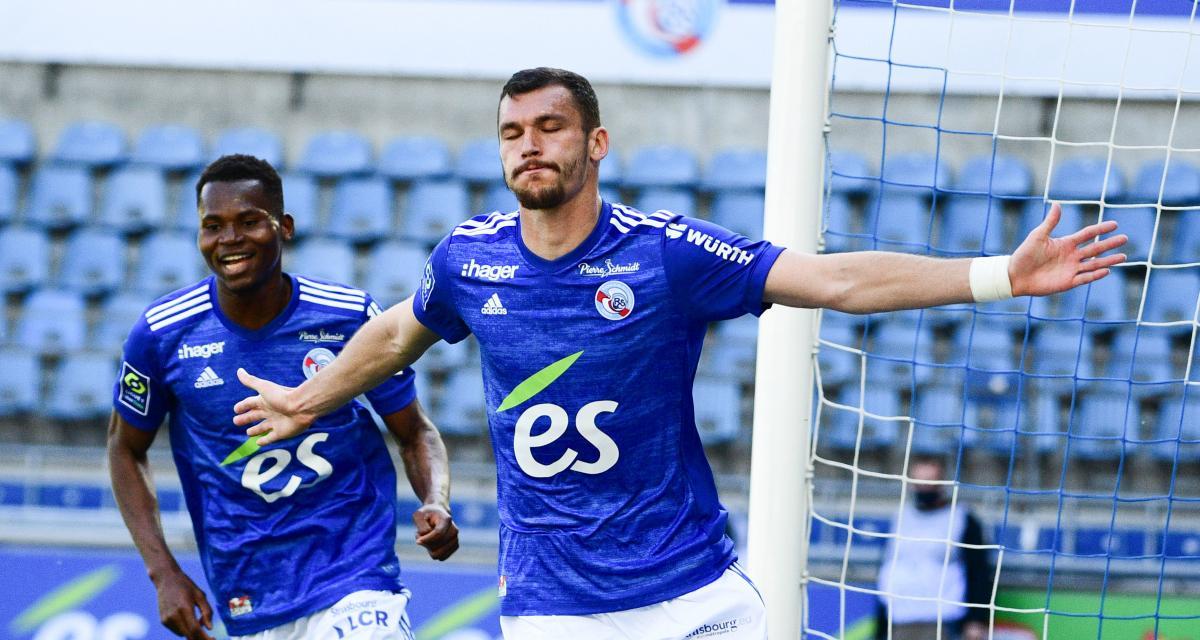 RC Strasbourg : face au FC Nantes, Ajorque a rejoint 2 chouchous de la Meinau
