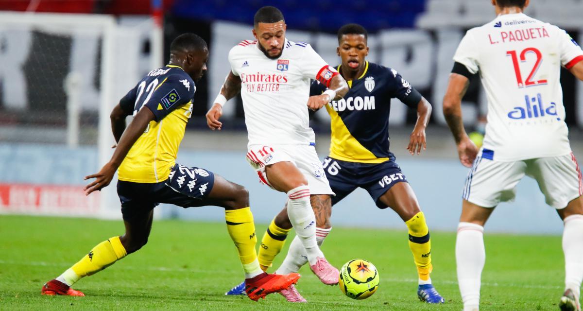 Ligue 1 : Monaco - Lyon, les compos probables et les absents