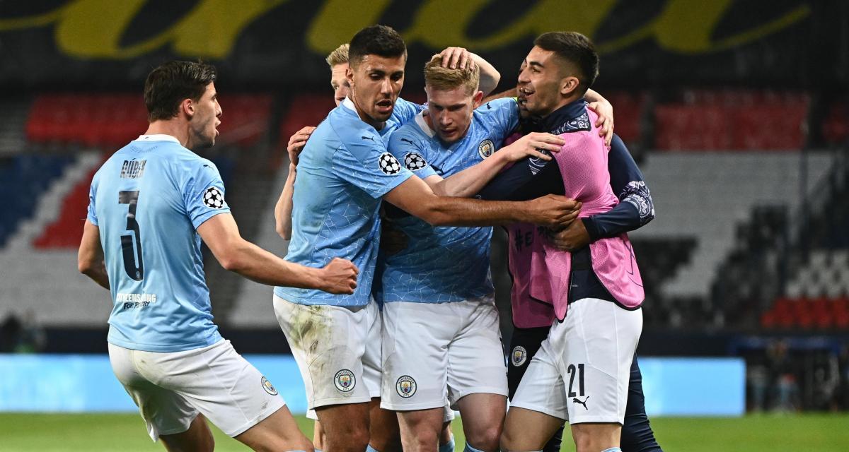 Résultat Champions League : PSG 1-2 Manchester City (terminé)