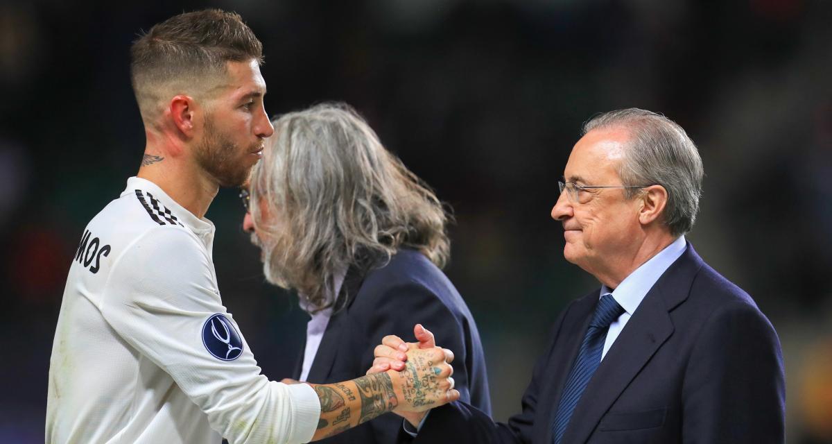 Real Madrid - Mercato : Florentino Pérez a remporté son bras de fer avec Sergio Ramos !
