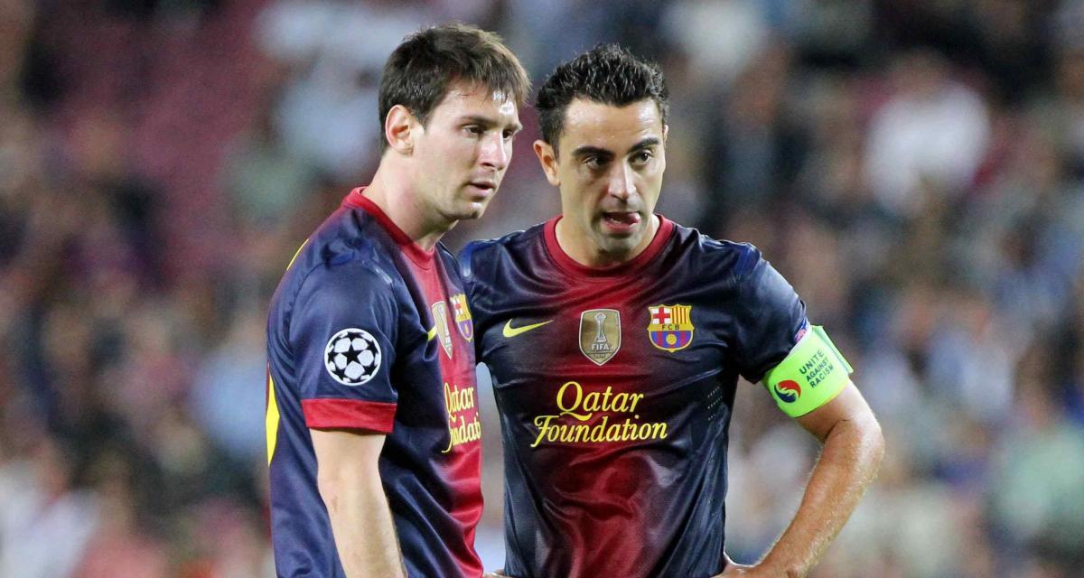 FC Barcelone : l'émouvante déclaration de Xavi à Messi