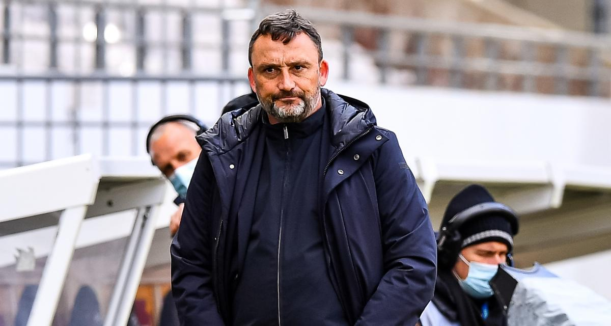 RC Lens : le choc face au PSG, la course avec l'OM, Farinez…c'était la conférence de Franck Haise