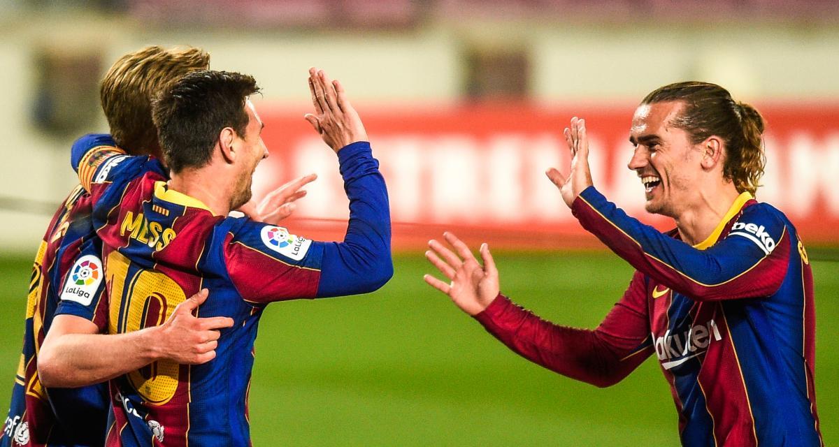 Résultat Liga : Messi porte encore le FC Barcelone (mi-temps)