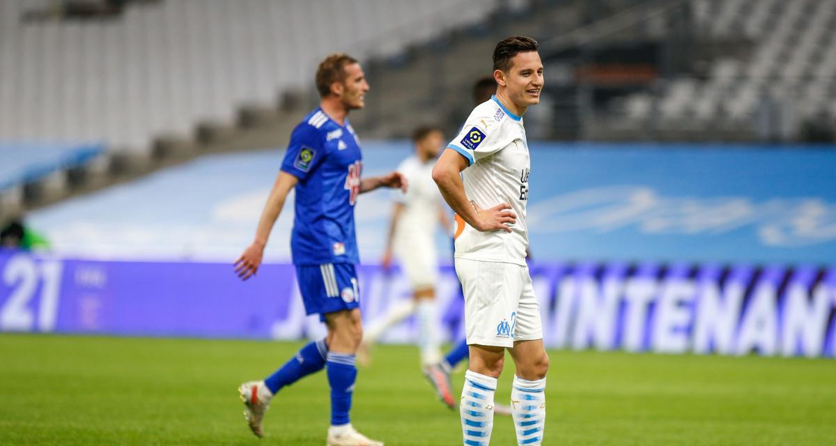 Résultat Ligue 1: OM 0-0 Strasbourg (mi-temps)