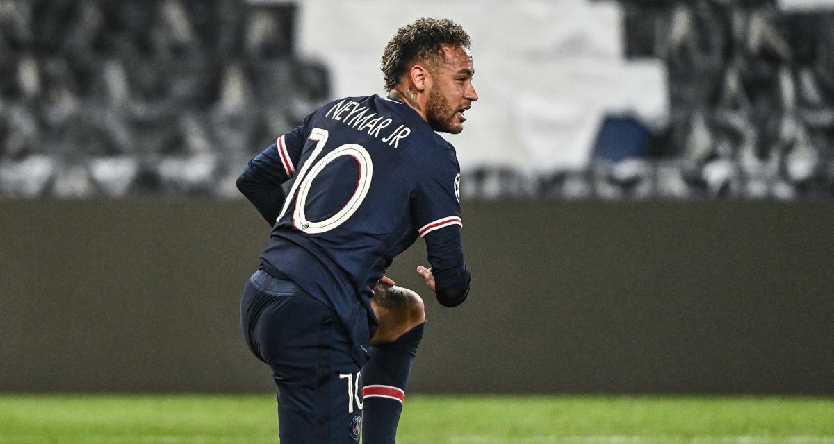 PSG: Neymar Jr se console des critiques avec un prix de prestige