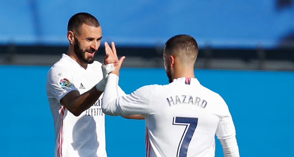 Liga : Real Madrid - Osasuna Pampelune, les compos (Hazard titulaire avec Benzema et Vinicius)