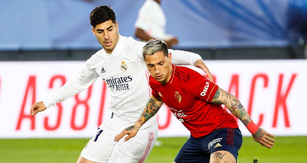 Résultat Liga : Real Madrid 2-0 Osasuna Pampelune (terminé)