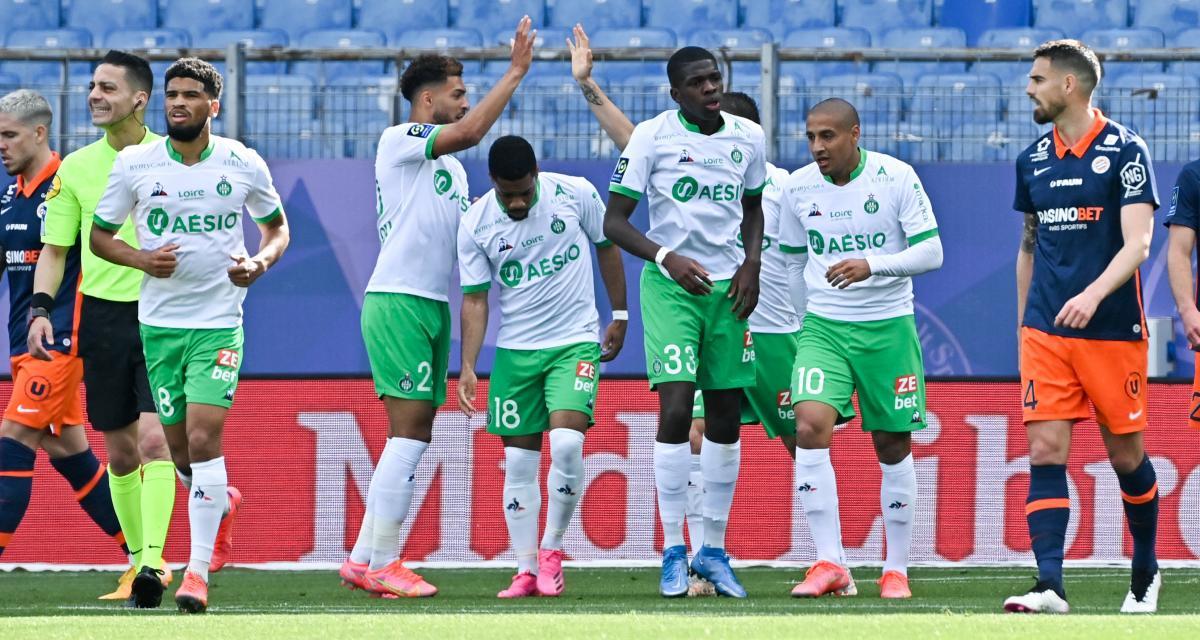ASSE: les 5 héros de la victoire du maintien à Montpellier (2-1)