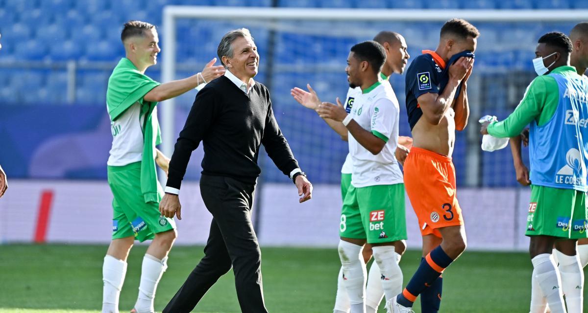 Montpellier – ASSE (1-2): Puel souffle et donne des nouvelles des blessés Trauco et Hamouma