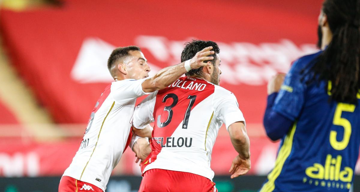Résultat Ligue 1: Monaco 1-0 Lyon (Volland punit l'OL, mi-temps)