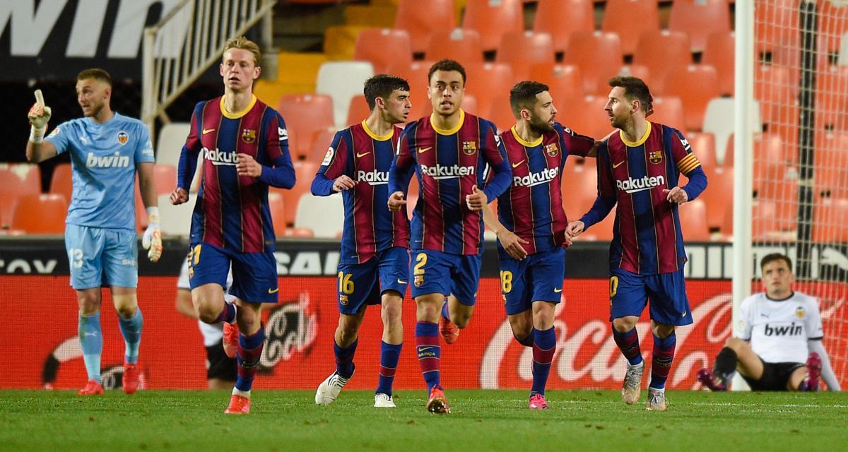 Résultat Liga : porté par Messi et Griezmann, le FC Barcelone renverse Valence (terminé)