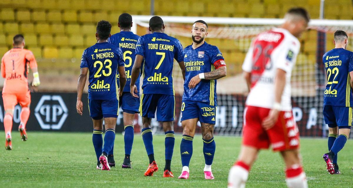 OL: Depay taille patron, Cherki en sauveur... les notes d'un Lyon renversant face à Monaco (3-2)