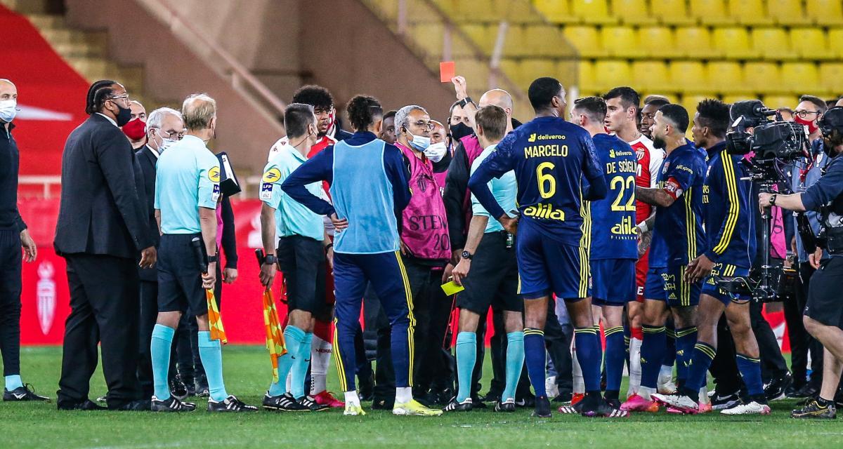 AS Monaco – OL (2-3): Aulas, Garcia et Lopes chargent les Monégasques pour la bagarre finale!