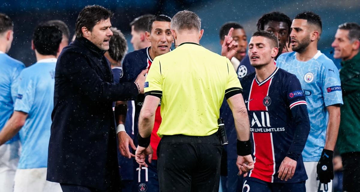 Manchester City - PSG (2-0) : les insultes de Di Maria après son rouge