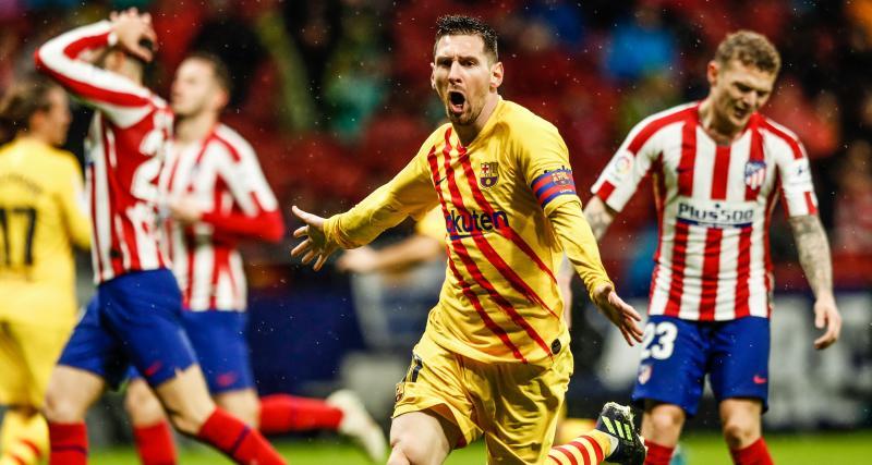 Messi, la bête noire de l'Atlético