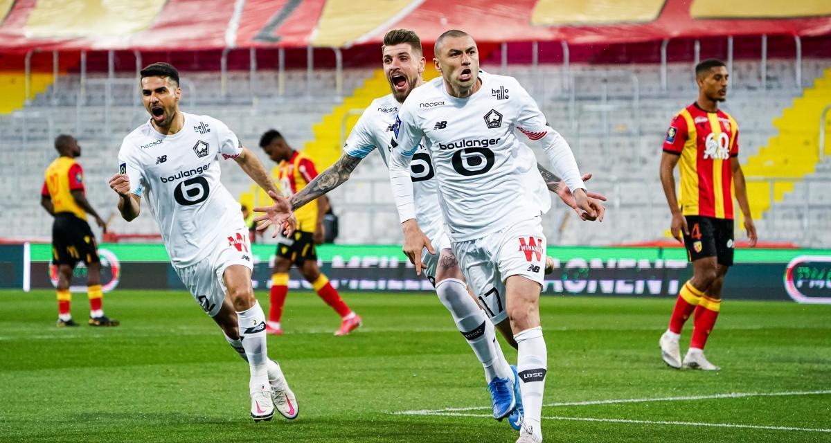 Résultat L1: à Lens, Burak Yilmaz porte Lille dans son derby (2-0, mi-temps)!