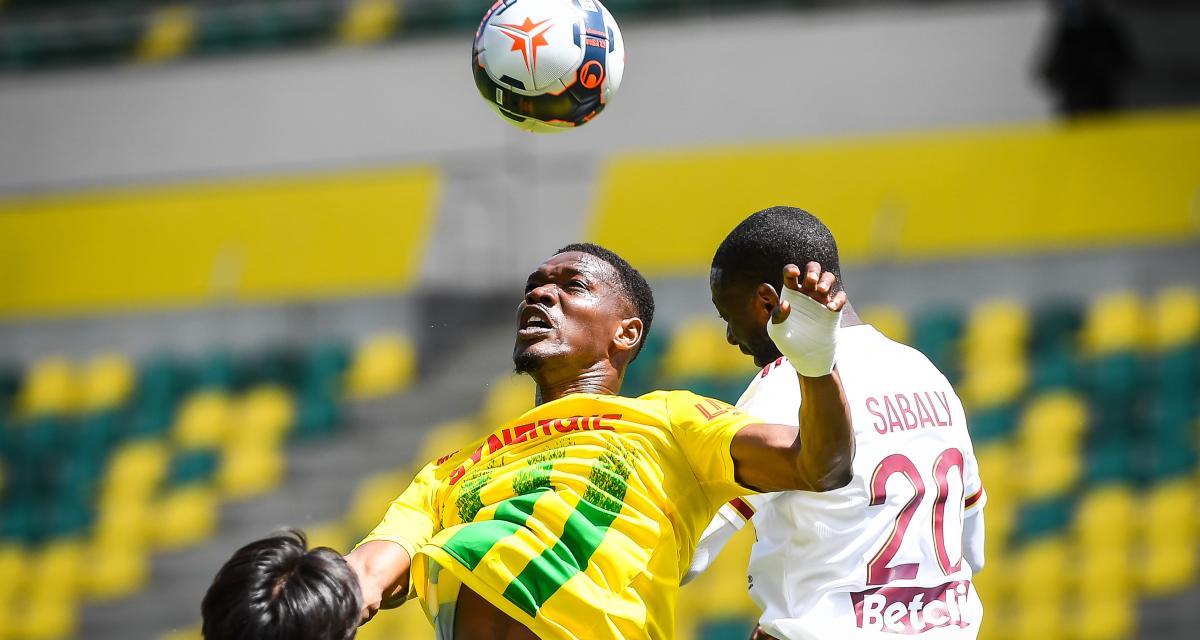 Résultat Ligue 1: le FC Nantes mène face aux Girondins (1-0, mi-temps)