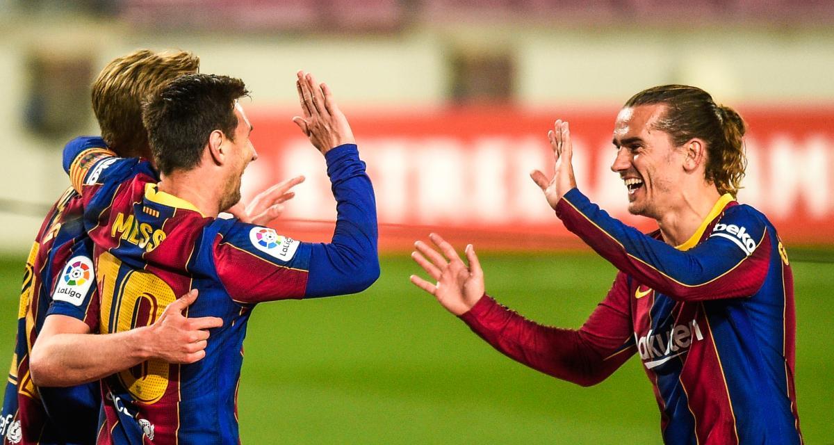 Liga : FC Barcelone - Atlético Madrid, les compos sont tombées (Messi et Griezmann titulaires)