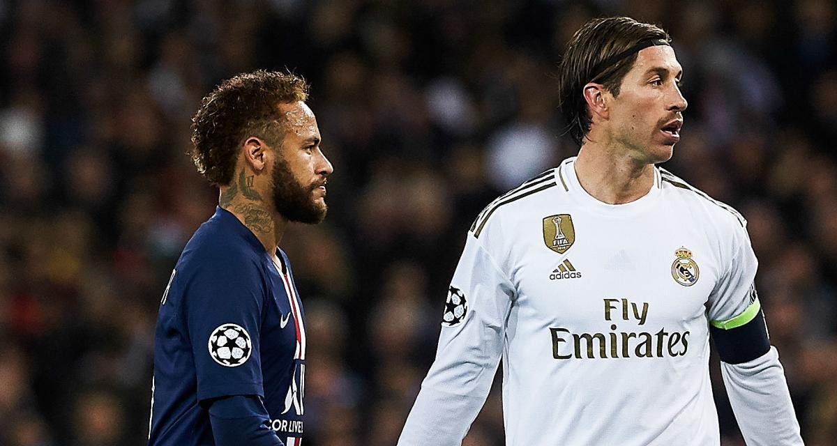 Real Madrid - Mercato : Ramos relance l'hypothèse d'un départ au PSG via Neymar