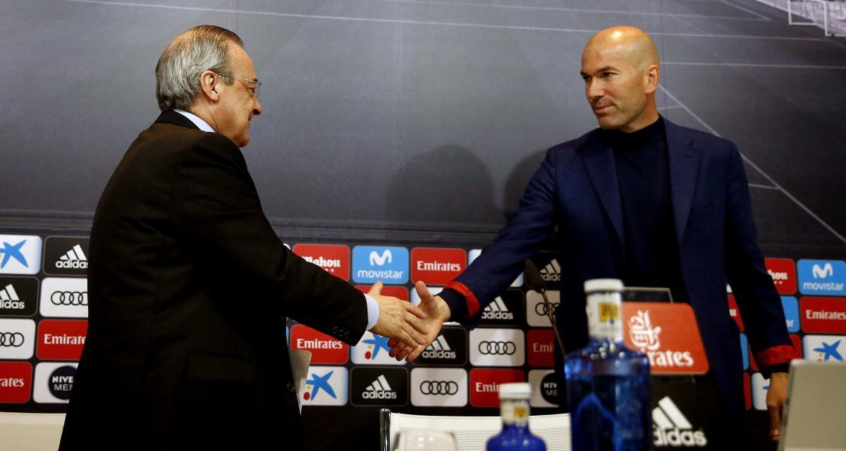Real Madrid - Mercato : Pérez a tranché pour Zidane !