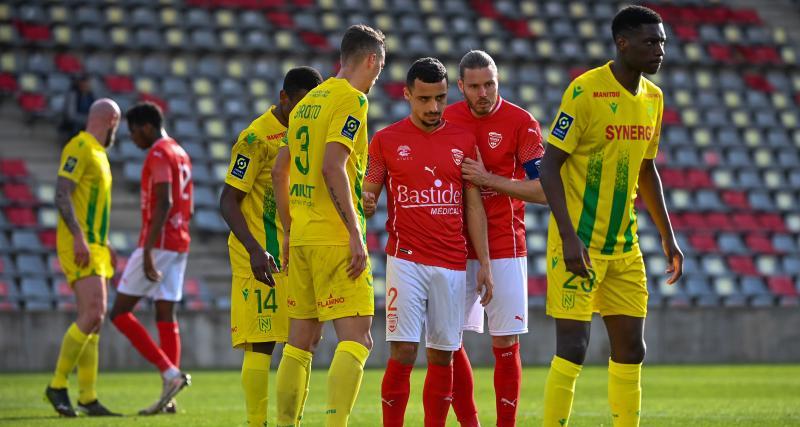 Résultats Ligue 1 : Nîmes revient à 2 points du FC Nantes, Montpellier s'est fait peur (terminé)