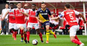 Résultat Ligue 1 : Stade de Reims 0-1 AS Monaco (mi-temps)