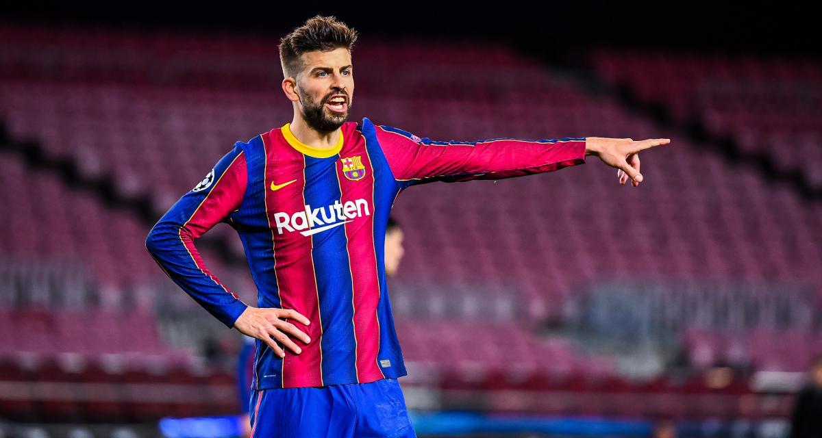 FC Barcelone: Piqué s'offre une nouvelle polémique avec le Real Madrid