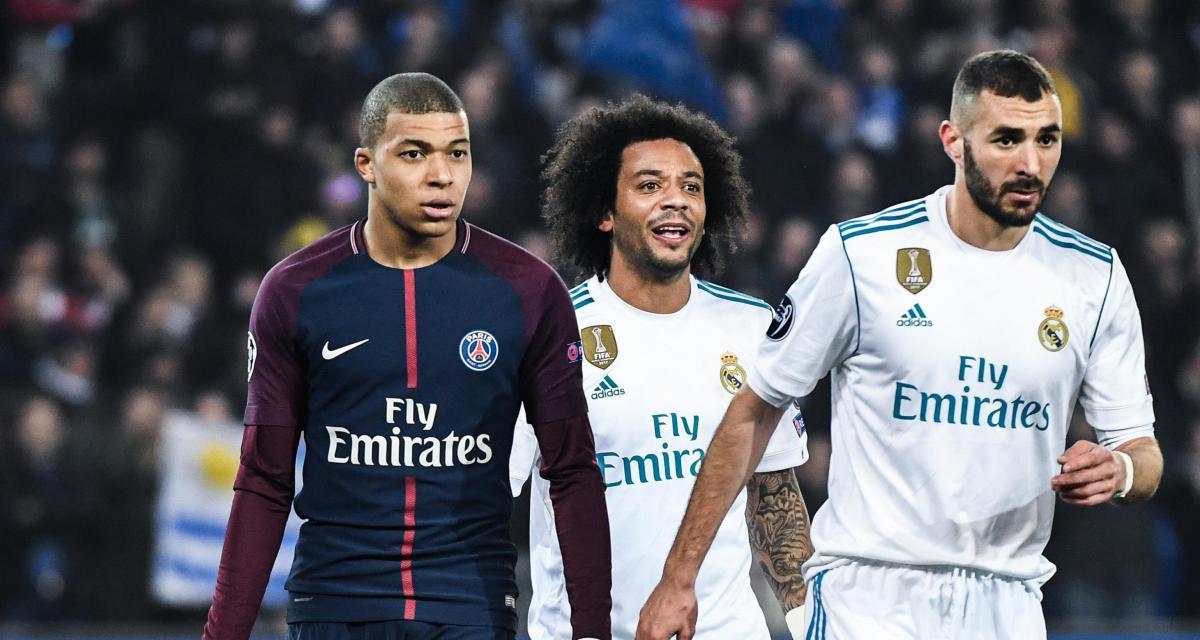 PSG, Real Madrid: le premier échange prometteur entre Mbappé et Benzema
