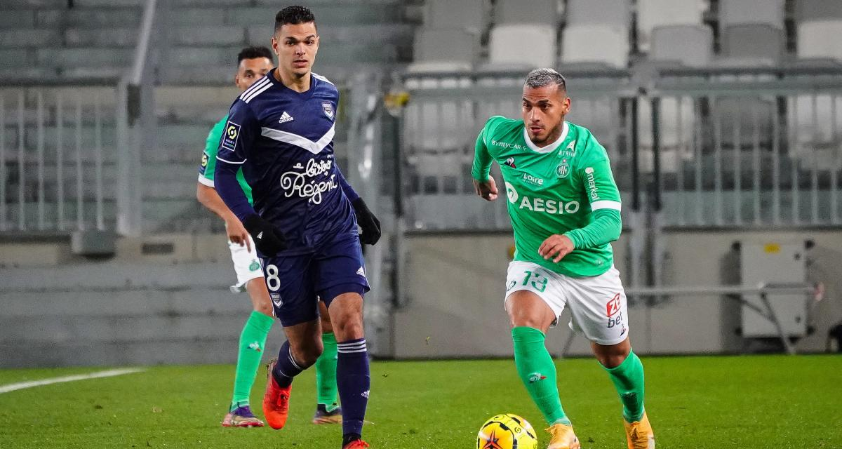 ASSE, FC Nantes, OL, Stade Rennais - Mercato : plusieurs clubs de L1 sur Ben Arfa (Girondins) !