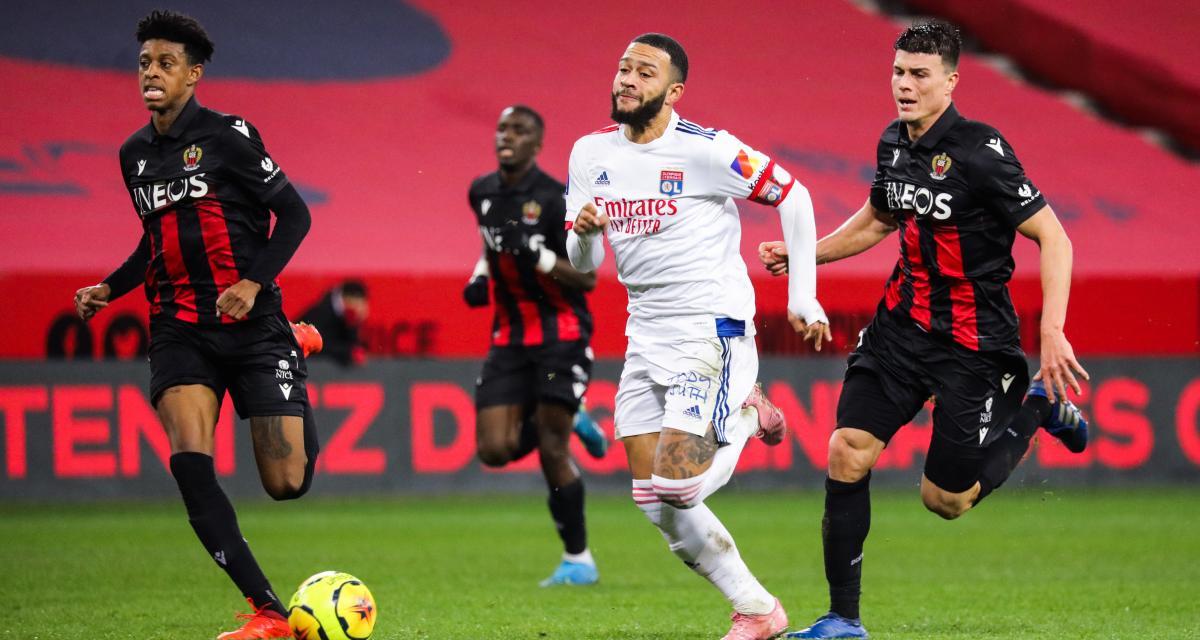 Ligue 1 : OL - Nice, les compos probables et les absents