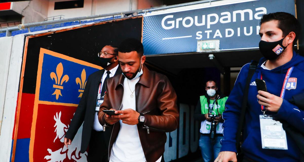 OL – Mercato: Memphis Depay à quelques «derniers détails» de signer au FC Barcelone